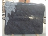 Dark Bahama Blue Granite Carved