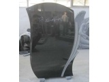 Shanxi Black Granite Headstones Price