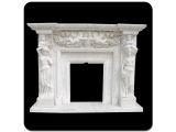 China Sichuan White Marble Carving