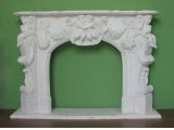 China White Marble Hand Carved