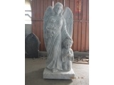 Imported Carrara White Marble Angel