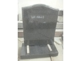 G654 Dark Grey Granite Headstone