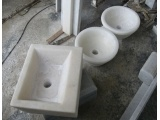 Greece Crystal White Marble Washing