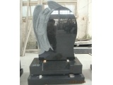 China Black Angel Tombstone for