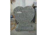 G640 Heart Shape Granite Headstone