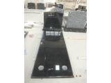 Polished Black Full Monument in