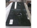 Prefab Butterfly Green Granite Vanity