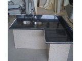 Prefab Butterfly Blue Granite Kitchen