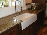 Polished Brazil Giallo Veneziano Granite