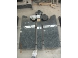 High Polished Cross Headstone IN