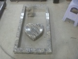 Heart Lying Stone Polished Germany