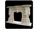 Hand Carved Hunan White Marble