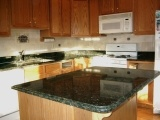 Green Butterfly Prefabricated Granite Countertops