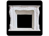 White Marble Classical Hand-craved Firplaces