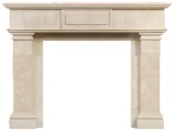 Honed Simple Size Beige Marble
