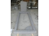 Flamed Face Edge Rounded Gravestone