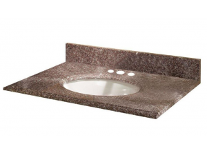 G664 Misty Brown Granite Vanity