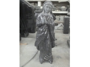 Polished Manufactured Madonna Statue For