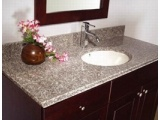 G664 Misty Brown Granite Bathroom