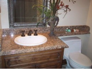 Maple Red Bathroom Vanities Tops